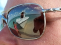 Sea Vee 34 Center Console reflection in Sunglasses