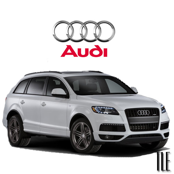 TLE Audi Q7 available for rental in Miami
