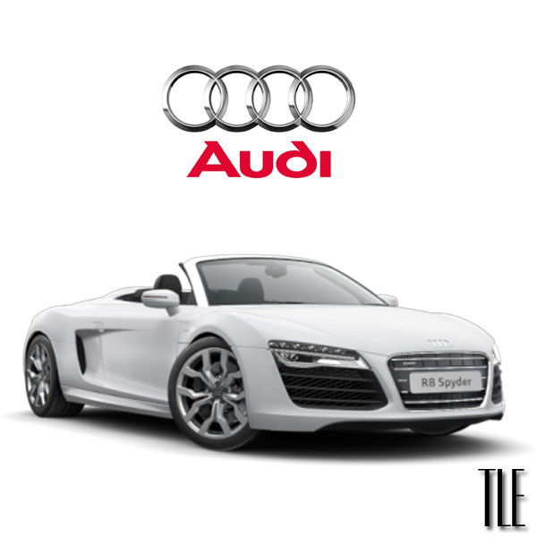 Audi R8 convertible available for rental in Miami